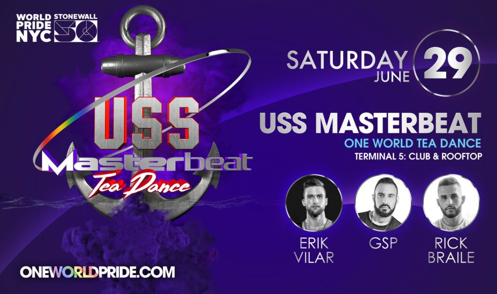 USS Masterbeat | Tea Dance - World Pride NYC 2019 Official